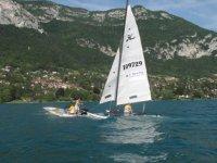Navigation sur le lac d Annecy avec VPV