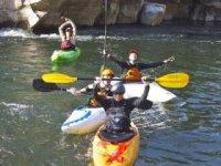 Le kayak en Ardeche