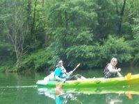 Canoe en pleine nature