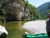 Kayak dans le tarn