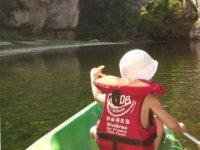 Canoe pour petits et grands