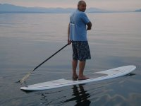 Paddle surf sur Annecy
