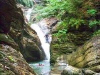 Canyon en Isere
