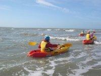Kayak de mer pres de Noirmoutier