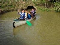 Sortie familiale en canoe Vendee
