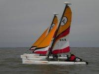 Faire du catamaran Notre Dame de Monts