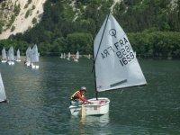 Stage ete navigation au lac Leman
