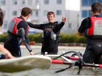 Cours de windsurf a Evian