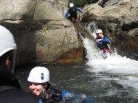Tobbogans canyoning