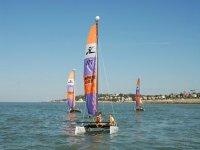 Ecole de voile catamaran 13 pieds