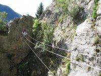 Difficultés parcours Via Ferrata