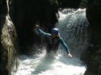 Vive le canyoning avec Acroroc