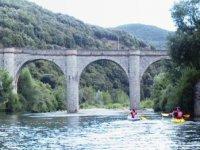 Depart en canoe ou kayak de Mons de Trivalle