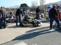 Evenement au karting