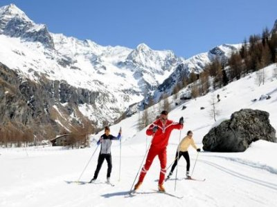 ESF Allos le Seignus Ski de Fond