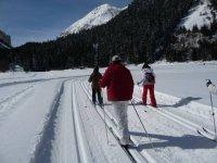 Ski de fond en randonnee et cours