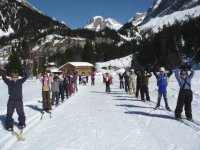 ski de fond enfants