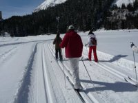 Sortie en ski nordique a Pralognan