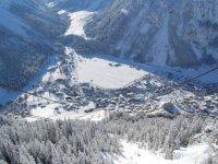 Vue sur la station Pralognan La Vanoise