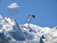 Parapente au Mont Blanc