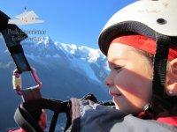 Parapente Mont Blanc enfant