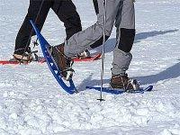 Randonnee en raquettes a neige Bauges