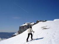 Randonnee en raquettes a neige Savoie