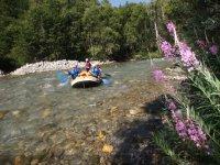 Rafting dans les Hautes Alpes avec Rivieres Evasion Rafting