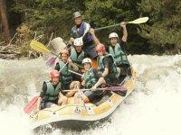 Descente en Raft dans les Hautes Alpes