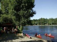 Location de kayak pour descendre la Dordogne