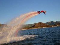 Plongeon en flyboard