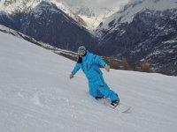 Cours de snowboard a Puy St Vincent