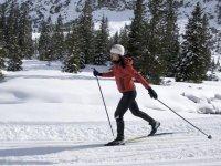 Balade ski de fond Lac Blanc