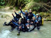 Canyoning Trefond Pernaz
