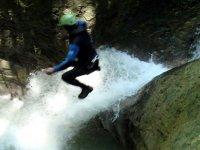 Saut canyon Trefond Pernaz