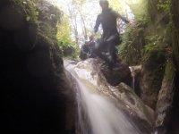 Sauts et toboggans naturels en Savoie
