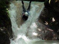 Aventure dans un canyon de Savoie