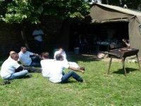 Barbecue au soleil
