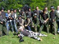 Enterrement de vie de garcon dans le Gard