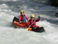 Canoe Raft avec Integral Rafting Canoe