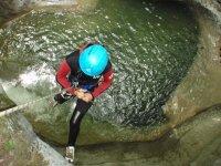 Canyoning dans le Parc National des Ecrins