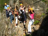 Via Ferrata en groupe