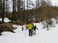 Raquettes a neige Montgenevre