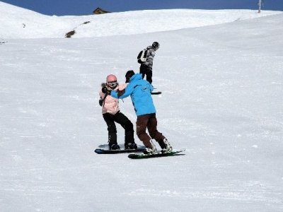 ESI La Toussuire Snowboard