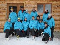 Les moniteurs de ski