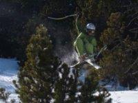 Saut ski freestyle