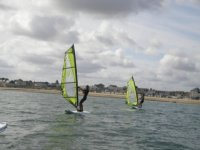 Faire du windsurf dans le Calvados