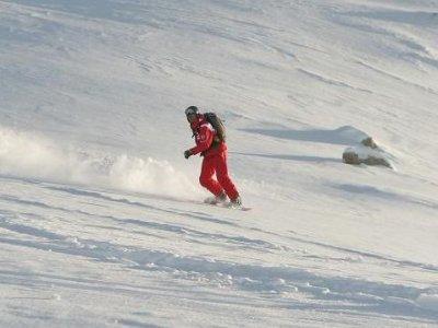 ESF Plagne Bellecôte Snowboard