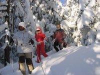 Savoie et raquettes a neige