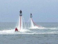 Flyboard plage La Nartelle